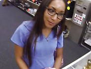 Girl Desperately Needs Money Gets Fucked At The Pawnshop