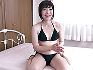 Shaved Pussy Asian Teen Spreads Her Pussy Lips