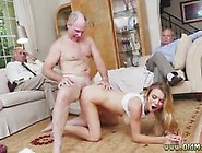 Hot Girl Gets Fucked And Blond Teen Old Gangbang Molly Earns Her