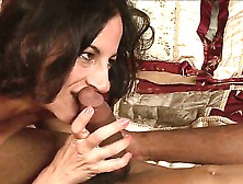 Lusty Turned On Brunette Milf Melissa Monet With Natural Hanging