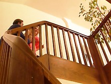Dont Drop Your Jugs Down The Stairs - Xhamster. Com
