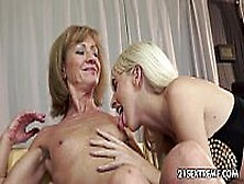 Alexa Wild And Katherin Old Young Lesbian Love