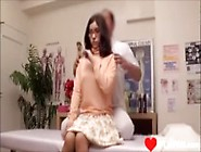 Japanese Massage Therapy - Girl With Glasses Hot!