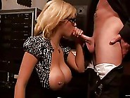 Blonde Woman With Big Tits And Perky Nipples Got A Good Fuck In