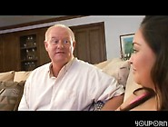 Wife Caught Horny Old Man Fucking Young Babysitter