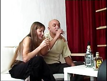 Sexy Russian Chick Gets Fucked In The Ass