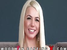 Блондинка С Красивым Лицом Впервые Раздевается На Кастинге Вудма