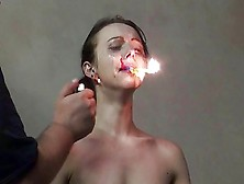 Gruesome Fire Torture Of Emily X In Extreme Dungeon Domination A