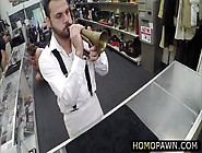 Absolutely Straight Guy Goes Gay In The Shop And Gets Anal Reame