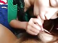 Slender Chinese Geek Made To Eat Dick On Camera