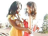 Ebony Lesbian Sexy Girls