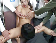 Amazing Gang Bang In The Bus For Young Babe With Sexy Nude Forms