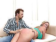 Blonde Cougar With Big Beautiful Tits Enjoying A Hardcore Ass Fu