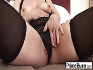 Fat,  Blonde Lady With Hairy Pussy,  Magda Likes When Her Black Lo
