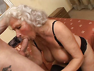 Hussy Jade With Grey Hair Screwed Bad In A Doggy Position