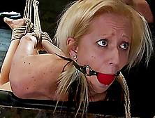 Rene Phoenix Enjoys Having A Hook In Her Ass In Bdsm Scene