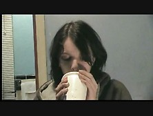 Two Girls Gagging Vomit Puke Puking Vomiting Barf