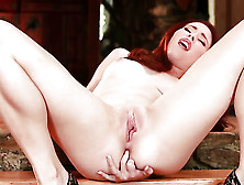 Melody Jordan Does Her Best To Make Your Cock Harder In Solo Aba