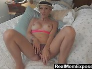 Blonde Milf Emy Banx Stuffing Her Holes And Sucking Dick