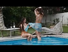 Melisa Mendiny And Little Caprice - Two Hot Czech Girls In The P
