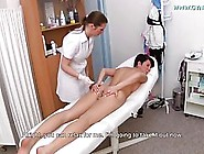 Tall,  Black Haired Lesbian Likes To Visit Her Doctor And Enjoy D