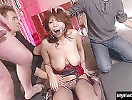 This Little Asian Girl Is Getting The Best Oral Sex Experience O