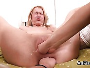 Wicked Lesbian Babes Are Stretching And Fist Fucking Ass Hol