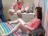 Red Haired Babe Asked Her Step- Father To Fuck Her Brains Out In