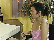 Premature Amateur Office Nice Thai Asia Girl Twice Cumshot! Very