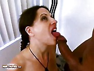 Lena Ramon Is All Smiles After Sucking Cock And Getting Jizzed