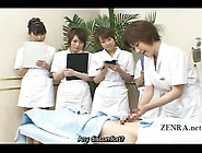 Subtitle Cfnm Japanese Handjob Spa Demonstration