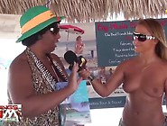 Jenny Scordamaglia Interviews Go Topless Day 2014 Attendees - Pt
