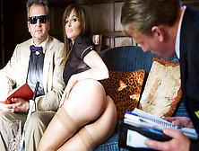 Ava Courcelles,  Luke Hardy In The Blind Professor - Digitalplayg