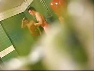Hidden Cam In A Shower Room