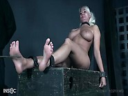 Busty London River Feet Torture Session Bdsm