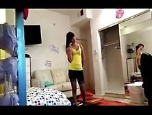 Hot Teens Fucking In Her Dorm