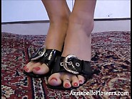 Annabelle Flowers Foot Worship