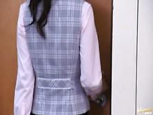 Shou Nishino Beautiful Asian Office Lady