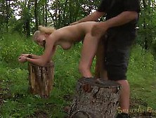 Kidnap Action And Outdoor Bondage Before Rough Sex