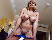 Busty Mature Enjoys A Younger Cock