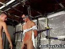 Sydney Gay Bondage New Boy Brodie Wanked And Fed Video