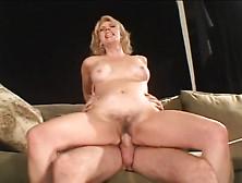Blonde Cougar Fucking Younger Guy