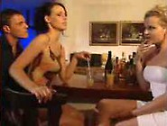 Surprise Anal Creampie In The Bar