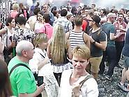 Csd Berlin,  Public Flashing,  Fucking And Cumshot