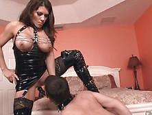 Mistress Leena Sky Strap Mouth