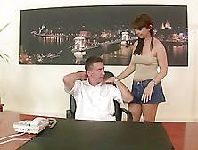 Horny Secretary Maria Bellucci Amazing Fuck