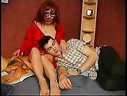 Red Haired,  Russian Woman Wants To Fuck A Younger Guy,  Because S
