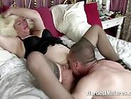 Blonde Fat Mature Slut