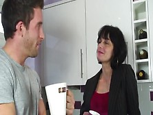 Dirty Posh British Milf Gets Fucked In The Kitchen