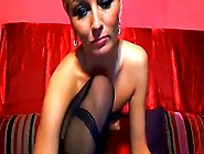 Blond Milf Smoking And Toying With